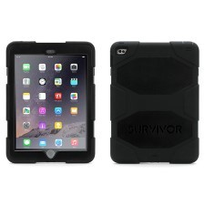 Griffin Survivor for iPad Air - Black/Black/Black