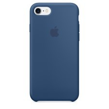 IPHONE 7  SILCONE CASE -OCEANIC BLUE