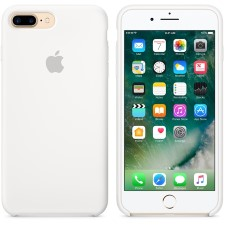 IPHONE 7 + SILCONE CASE -WHITE