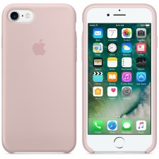 IPHONE 7  SILCONE CASE -PINK SAND