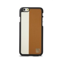 Snap On Case for iPhone6 - Wht/ Brwn
