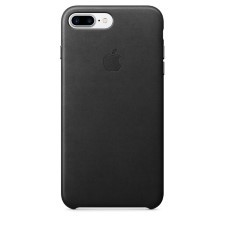 IPHONE 7 + LEATHER CASE -BLACK
